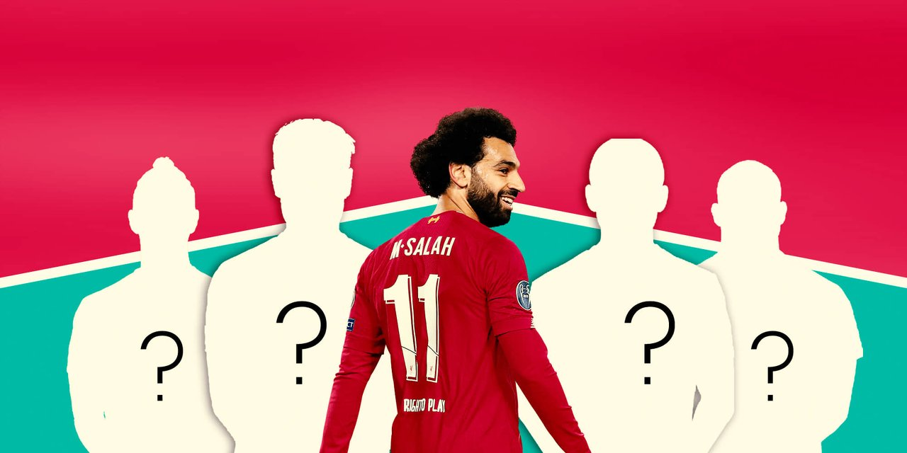 Mohamed Salah Liverpool FC Wearing Number 11 Jersey