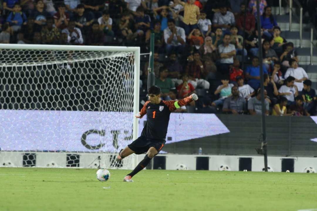 Gurpreet Singh Sandhu India FIFA World Cup Qualifiers Qatar