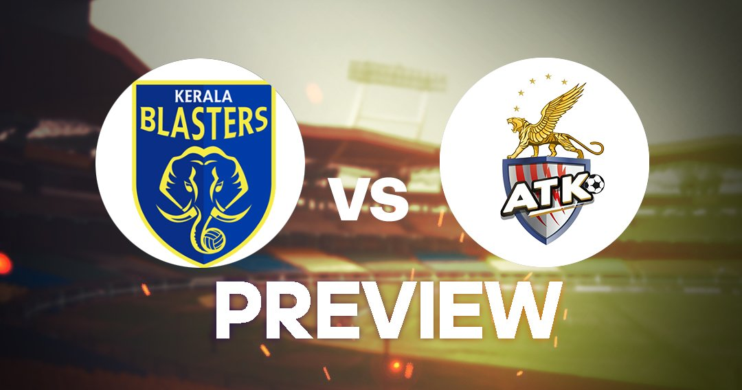 Kerala Blasters vs ATK preview ISL 2019-20