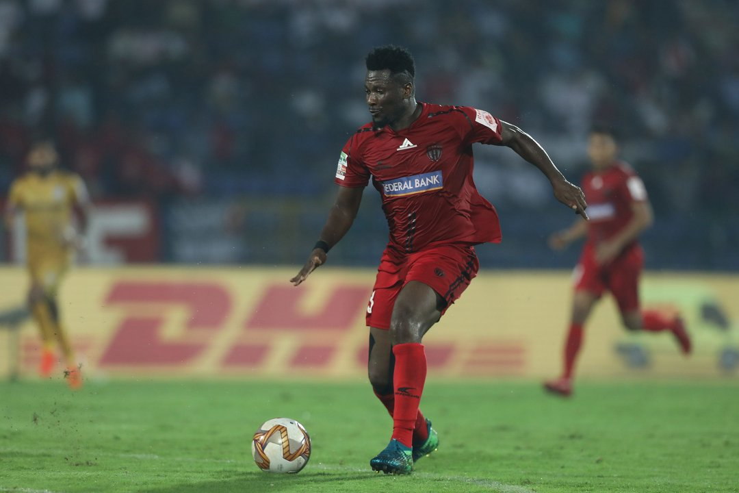 ISL 2019-20 NorthEast United Asamoah Gyan