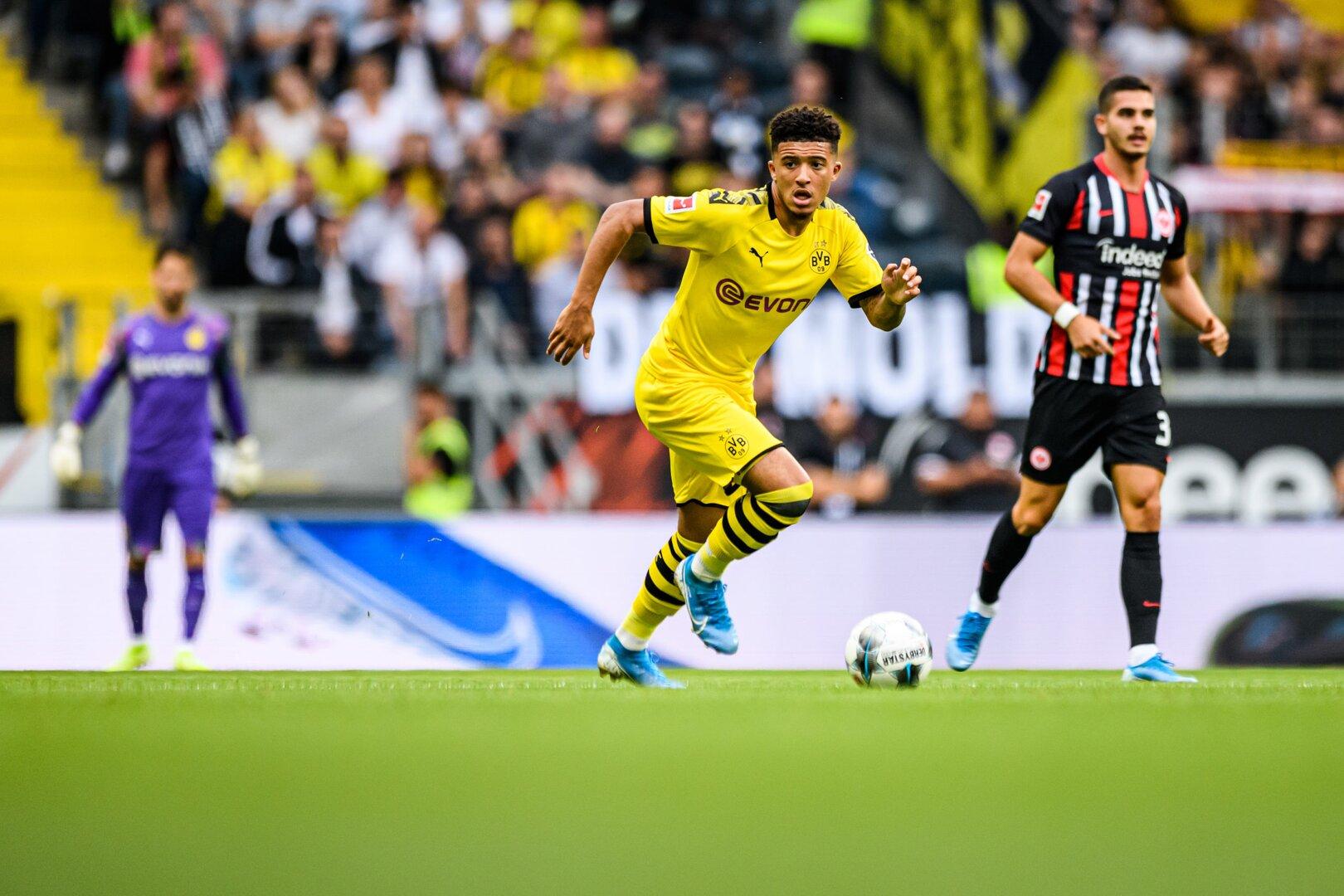 Jadon Sancho Bundesliga Matchday 21