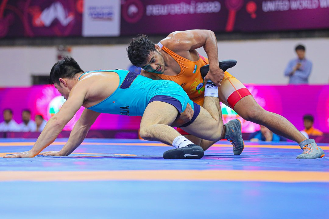 camp Asian Wrestling Championship wrestlers