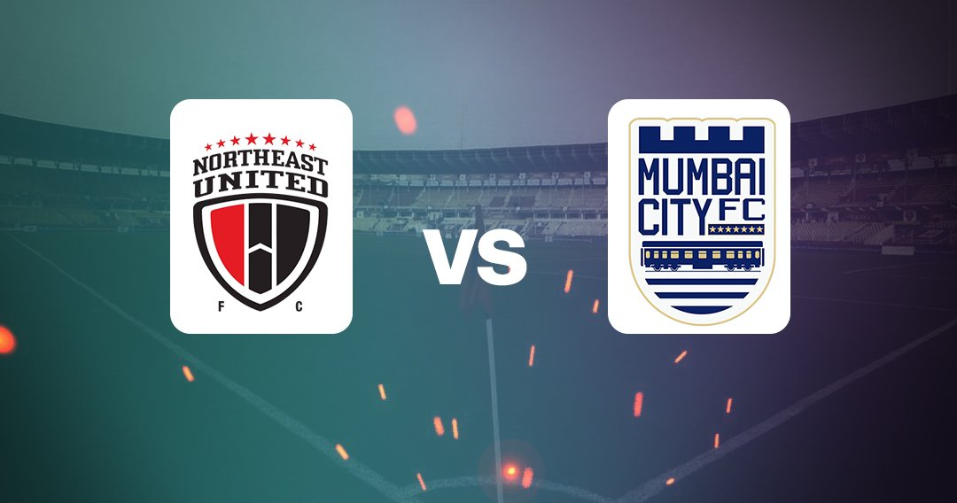 आईएसएल NorthEast United Mumbai City