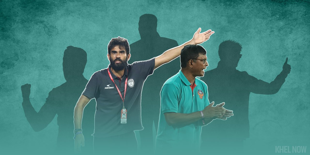 Indian football coaches