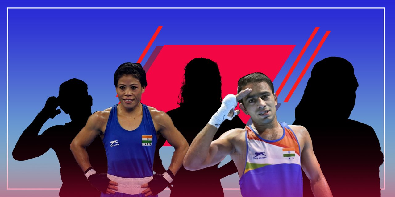 Asian Boxing Championships boxers